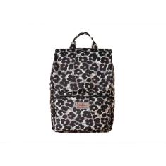 SMART BACKPACK LEOPARD FLOWER GREY