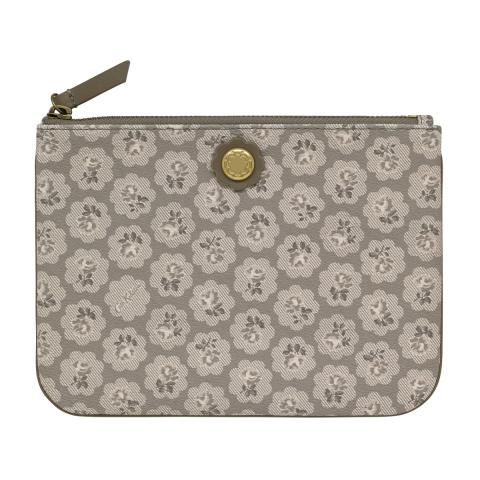 Frestonia Taupe Pouch