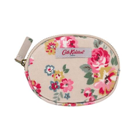 OVAL COIN PURSE WELLS ROSE