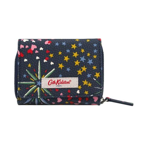 COMPACT WALLET MIDNIGHT STARS