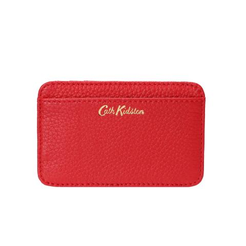 LEATHER CURVED CARD HOLDER R
