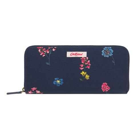 TRAVEL CONTINENTAL WALLET TWILIGHT SPRIG
