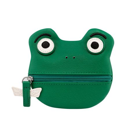 FROG COIN PURSE BATHING FROGS
