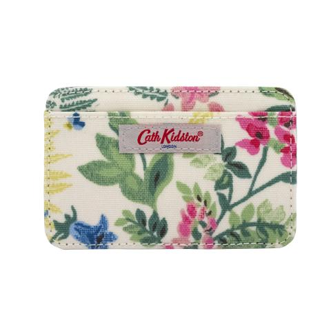 CARD HOLDER CC TWILIGHT GARDEN CREAM