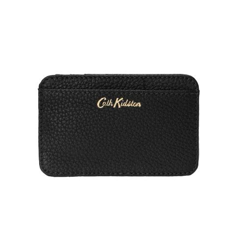 LEATHER CURVED CARD HOLDER B