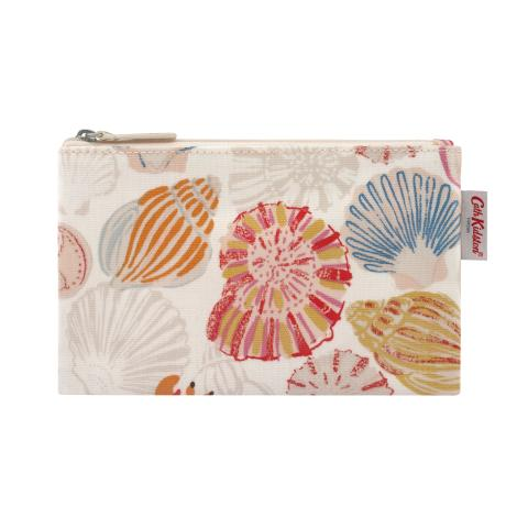 ZIP PURSE SEASIDE SHELLS
