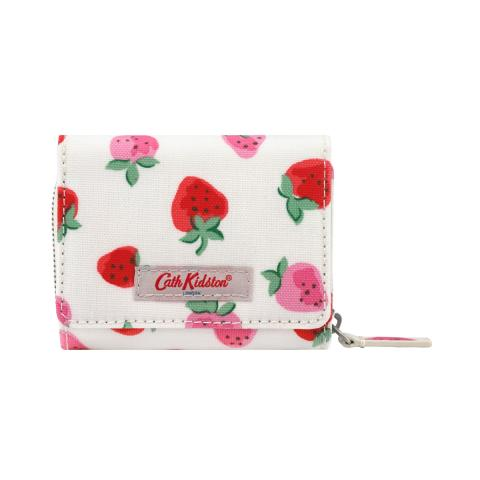 S FOLDOVER WALLET SWEET STRAWBERRY