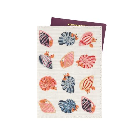 PASSPORT HOLDER SEASIDE SHELLS