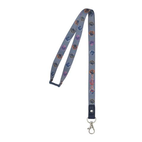 LANYARD MINI SEASIDE SHELLS TWILL