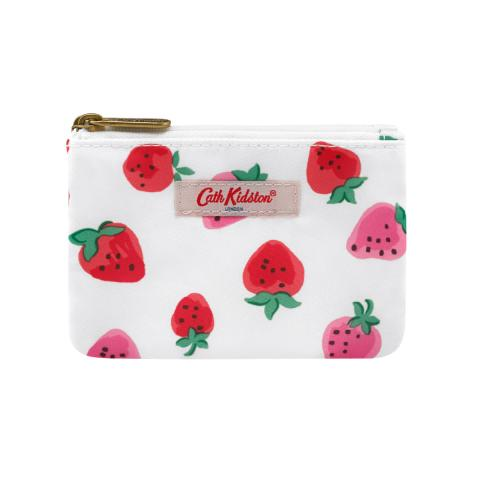 DOUBLE POCKET PURSE SWEET STRAWBERRY