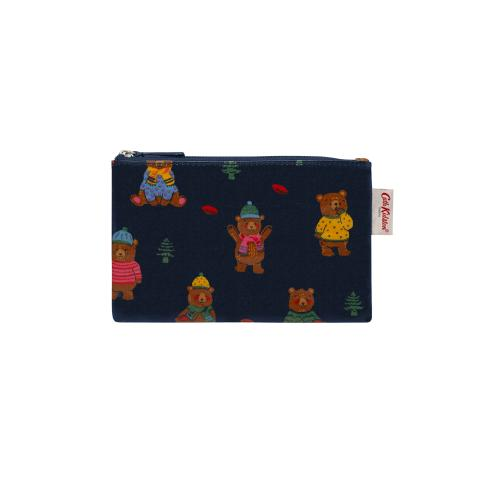 ZIP PURSE WOODLAND BEAR