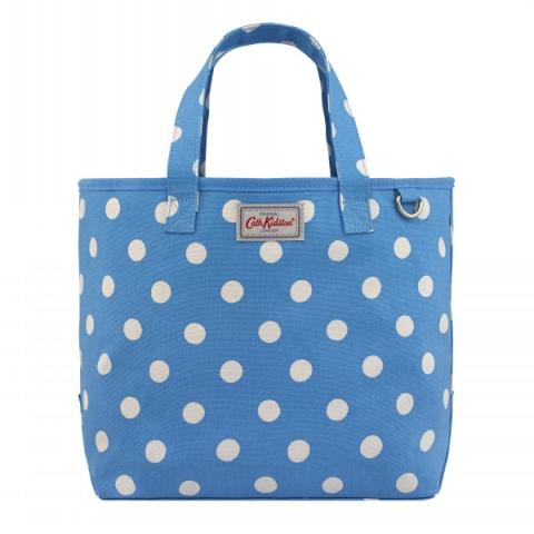 SMALL DRAWSTRING TOTE BUTTON SPOT