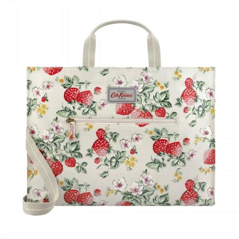 STRAPPY CARRYALL WILD STRAWBERRY