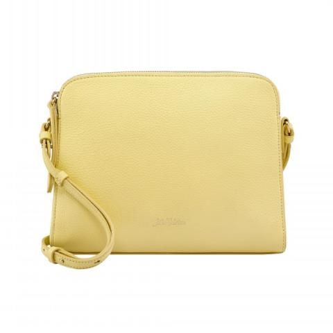 MALTBY LEATHER CROSS BODY SOLID YELLOW
