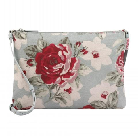 CLUTCH WITH STRAP NEW ROSE BLOOM