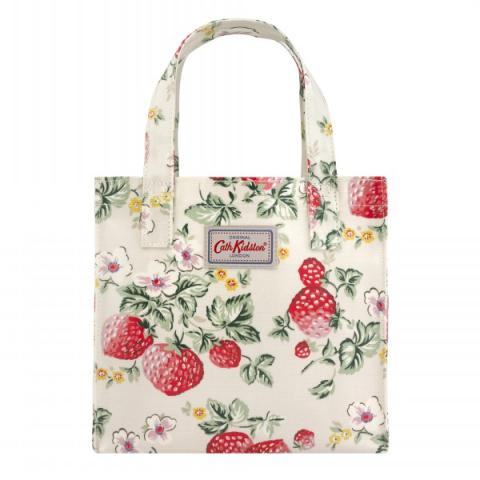 SMALL BOOKBAG WILD STRAWBERRY