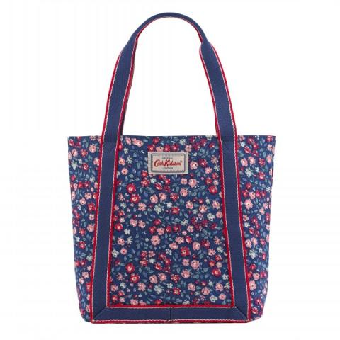 MINI REVERSE COATED TOTE DULWICH DITSY