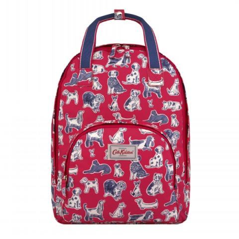 MULTI POCKET BACKPACK SQUIGGLE DOGS