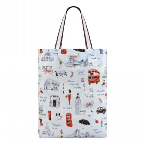 FOLDAWAY TOTE LONDON ICONS