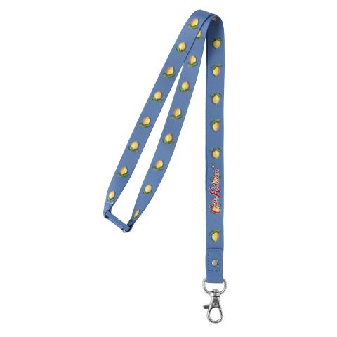 LANYARD LITTLE LEMONS RIVIERA BLUE