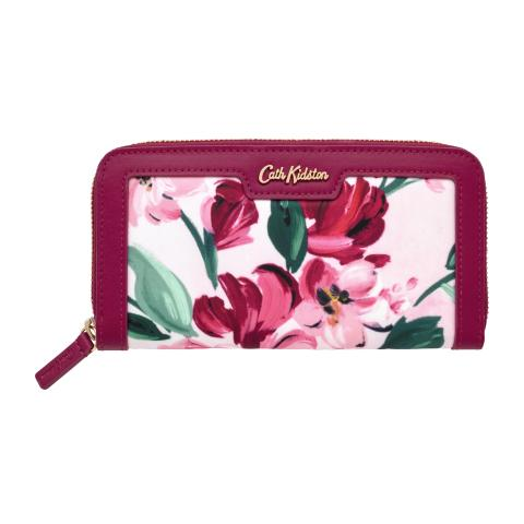 CONT WALLET PAINTBOX FLOWERS S