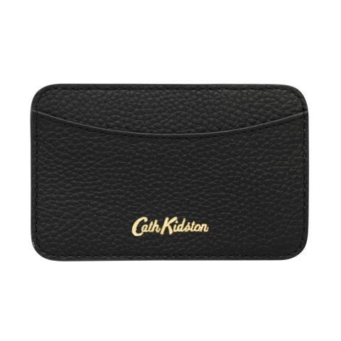 LEATHER CURVED CARD HOLDER DC