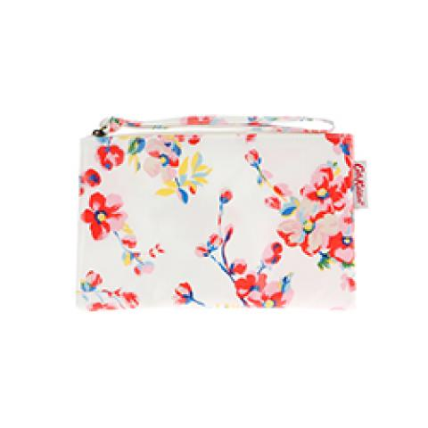 ZIP PURSE WITH WRIST STRAP WELLESLEY BLOSSOM