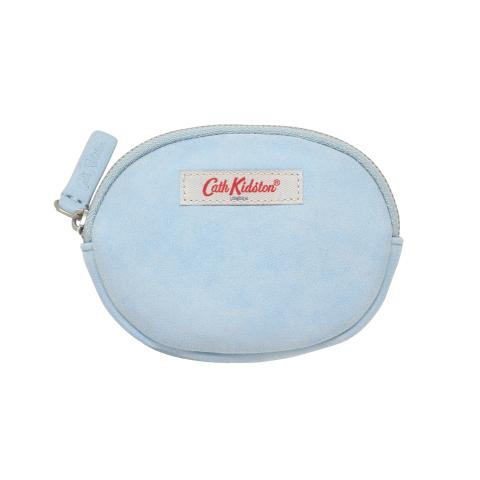 OVAL COIN PURSE BLUE