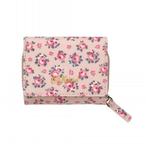 SMALL FOLDOVER WALLET HAMPTON ROSE