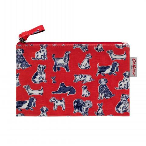 ZIP PURSE MINI SQUIGGLE DOGS