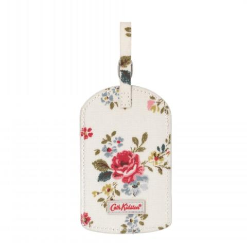 LUGGAGE TAG FIELD ROSE