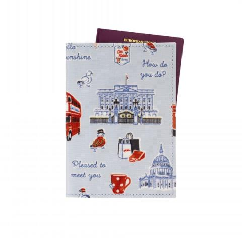 PASSPORT HOLDER MINI LONDON ICONS