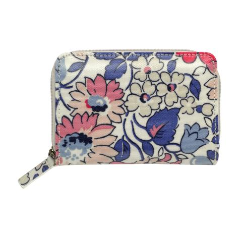 POCKET PURSE LARGE WELHAM FLOWERS STONE MULTI