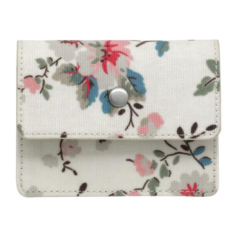 EXPANDING CARD HOLDER TRAILING ROSE NATURAL