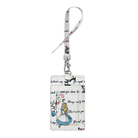 ALICE`S WORDS MINI LIGHT CREAM DISNEY I.D TAG