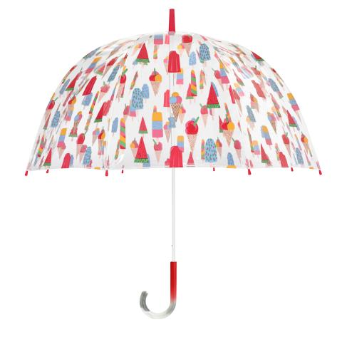 OMBRE BIRDCAGE UMBRELLA LOLLIES STONE