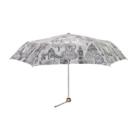 LONDON TOILE MONO MINILITE UMBRELLA - UV
