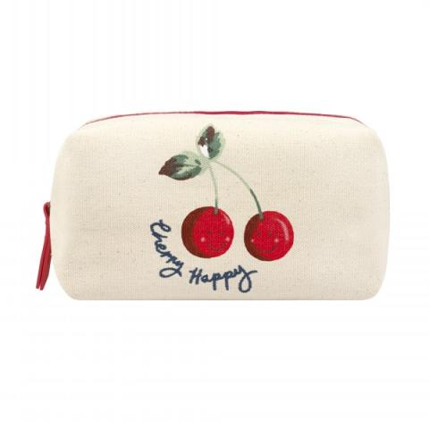 COSMETIC BAG CHERRY HAPPY