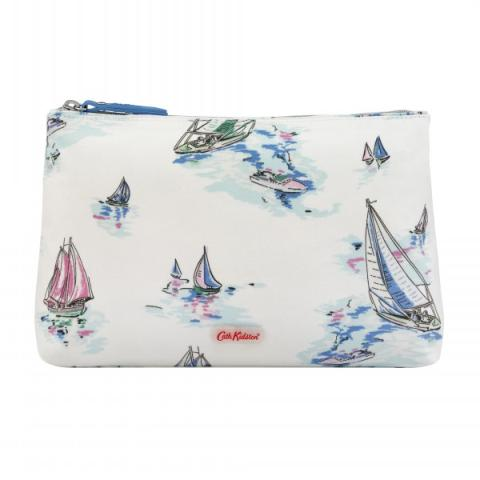 COSMETIC BAG SAILING SHIPS