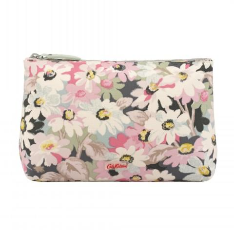 COSMETIC BAG PAINTED DAISY