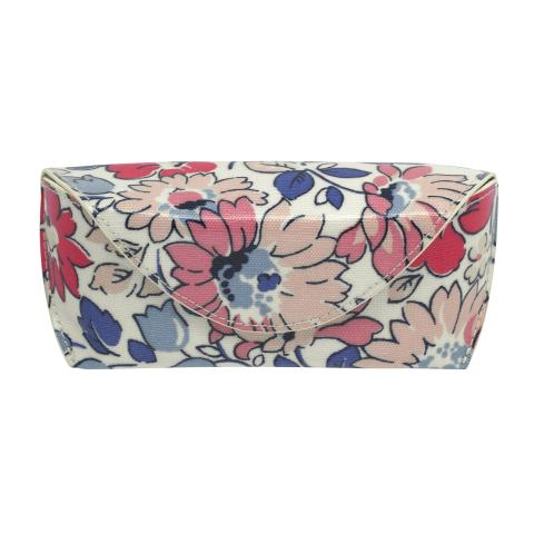 GLASSES CASE LARGE WELHAM FLOWERS STONE