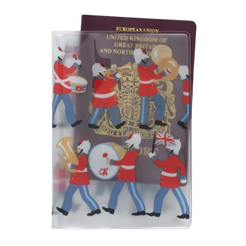PVC PASSPORT HOLDER MARCHING BAND CLEAR