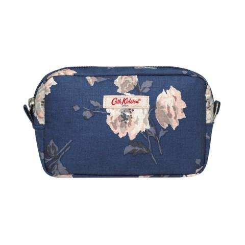 SMALL TRAVEL POUCH ISLAND BUNCH NAVY