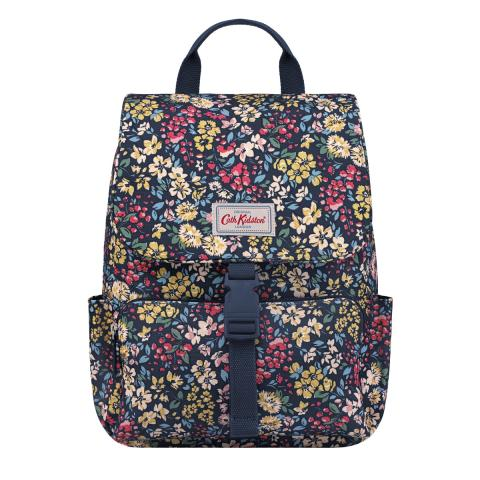 Flower Meadow Buckle Backpack