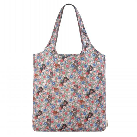 DISNEY JUNGLE DITSY FOLDAWAY SHOPPER