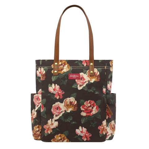 Chiswick Rose Large Canvas Tote