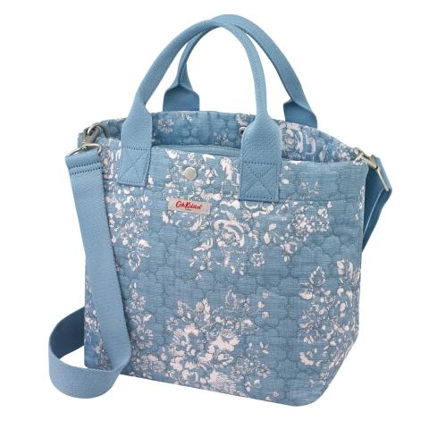S TOTE WASHED ROSE DENIM