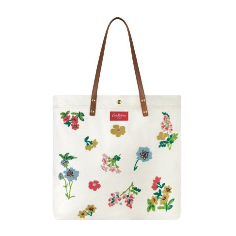 HEAVY CTN TOTE TWILIGHT SPRIG