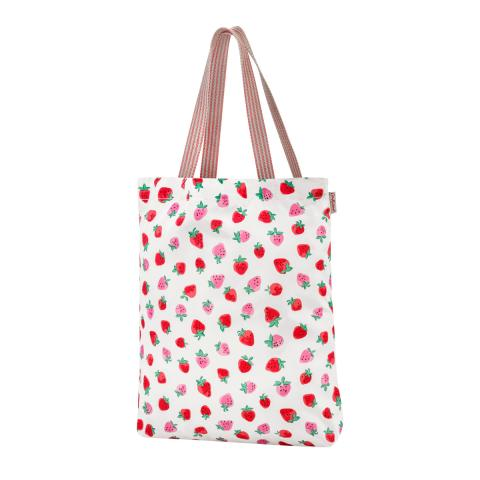 FOLDAWAY TOTE SWEET STRAWBERRY