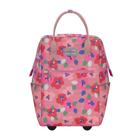 WHEEL BACKPACK LARGE PANSY TWILL